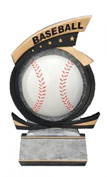 PDU 81503GS Gold Star Baseball Resin Award