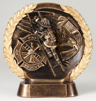MPI RFH535 Super 3D Firefighter Resin Award