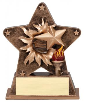 Star Burst Star Student Resin Award