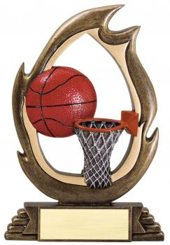 Flame Series Basketball Resin Award