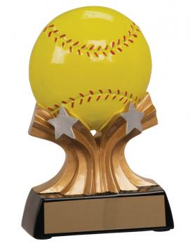RSH06 Shooting Star Softball Resin Award