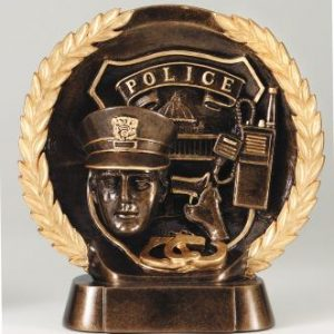 MPI RFH543 Super 3D Police Resin Award