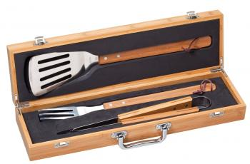 MPI BGS2 BBQ Gift Set in Genuine Bamboo Gift Box