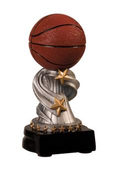 JDS REN102 Encore Small Basketball Sport Resin Award