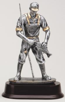 MPI RF2061SG Male Fisherman Resin Award