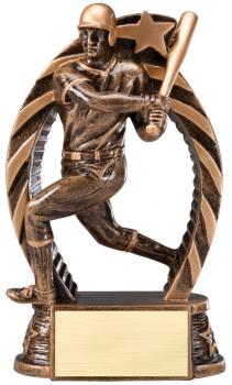 RST601 Running Star Resin Baseball Medium Award