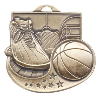 Star Blast Series 2 Basketball Medal