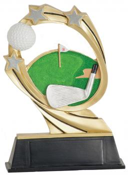 JDS RCM206 Cosmic Golf Resin Award
