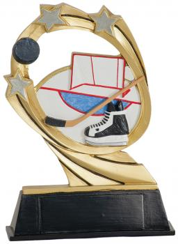 JDS RCM207 Cosmic Hockey Resin Award