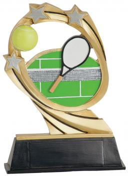 JDS RCM214 Cosmic Tennis Resin Award