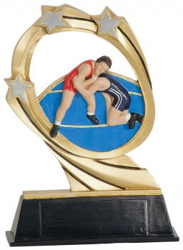 JDS RCM218 Cosmic Wrestling Resin Award
