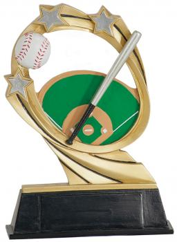 JDS RCM201 Cosmic Baseball Resin Award