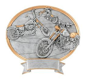 PDU 54655GS Motorcylce Oval Resin Award