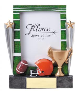 MPI RF8606 Football Resin Picture Frames
