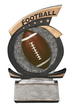 PDU 81500GS Gold Star Football Resin Award