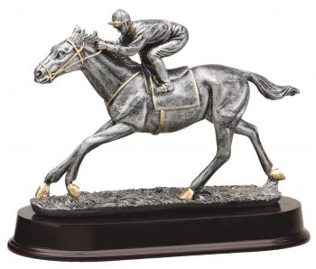 MPI RF2091SG Horse Racing Resin Award
