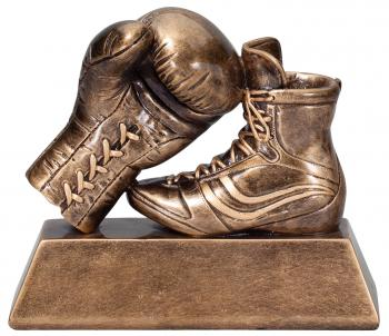 RF1330B Boxing Glove and Shoe Resin Statue Award