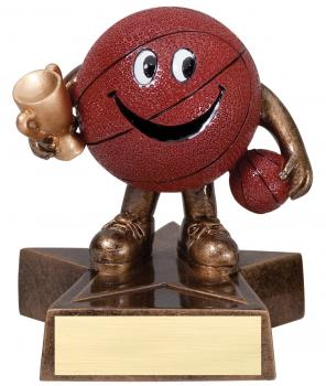 Lil Buddy Basketball Resin Award