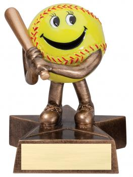 Lil Buddy Softball Resin Award