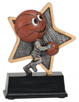 LPR02 Little Pal Basketball Resin Award Trophy