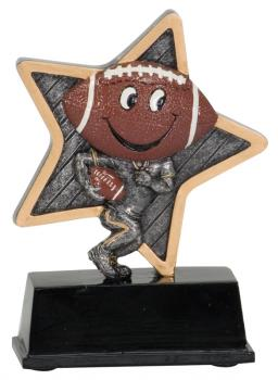 LPR05 Little Pals Football Resin Trophy Award