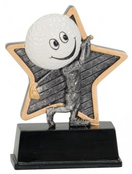 LPR06 Little Pals Resin Golf Trophy Award