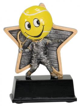 LPR10 Little Pals Resin Tennis Trophy Award