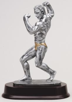 RF1012SG Male Body Builder Resin Award