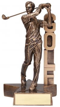MPI RST207 Small Billboard Male Golf Resin Award