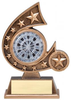 Comet Star Burst Darts Resin Award