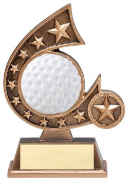 Comet Star Burst Golf Resin Award