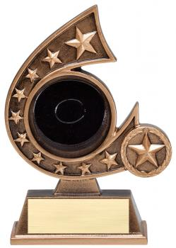 Comet Star Burst Hockey Resin Award