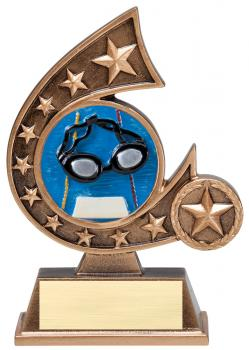 Comet Star Burst Swimming Resin Award