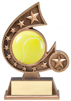 Comet Star Burst Tennis Resin Award