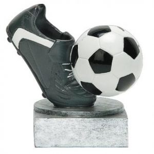 PDU 60022GS Color Tek Soccer Resin Award
