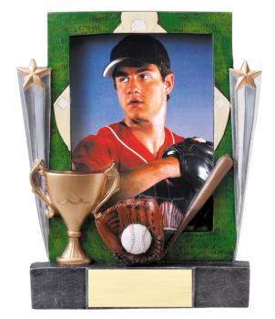 MPI RF8601 Baseball Resin Picture Frames
