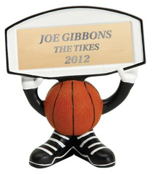 PDU 24505GS Basketball Sign Holder Resin Award