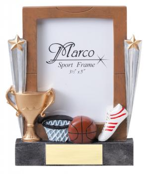 MPI RF8603 Basketball Resin Picture Frames