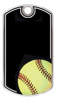 MPI KT262 Engraveable Softball Dogtag