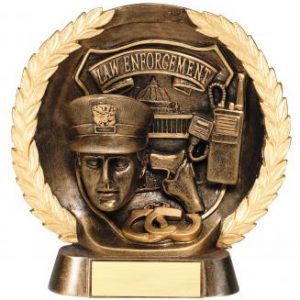 MPI RFH544 Super 3D Law Enforcement Resin Award