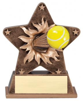 Star Burst Tennis Resin Award