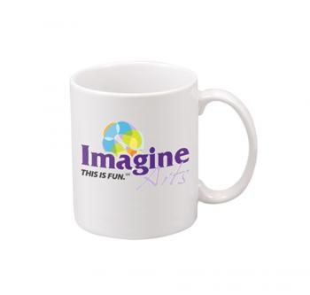 Image example on SM11W White coffee mug