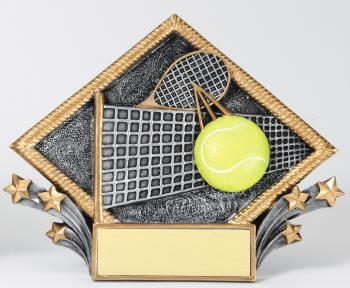 MPI Color Diamond Tennis Plate Award