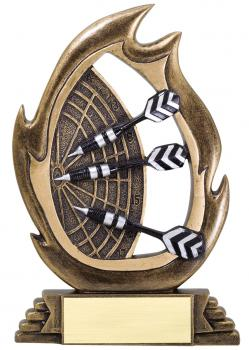 Flame Series Darts Resin Award