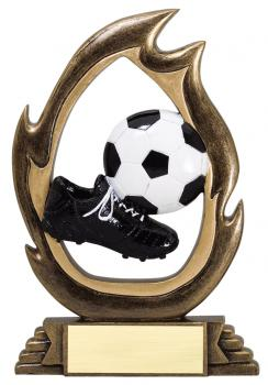 Flame Series Soccer Resin Award