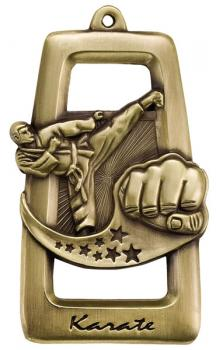 Star Blast Martial Arts Medal