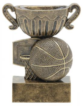 53305GS Sport Cup Basketball Resin Trophy
