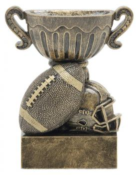 53300GS Sport Cup Football Resin Trophy