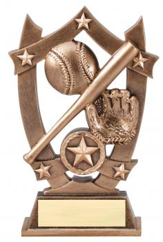 MPI Sport Star Baseball Resin Award