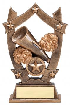 MPI Sport Star Cheerleading Resin Award